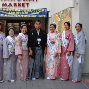 Deputy Chief Hada & Nisei Queen & Court