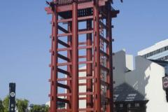 the_newly_renovated_yagura_fire_tower_located_on_the_1st_street_entrance_to_japanese_village_plaza